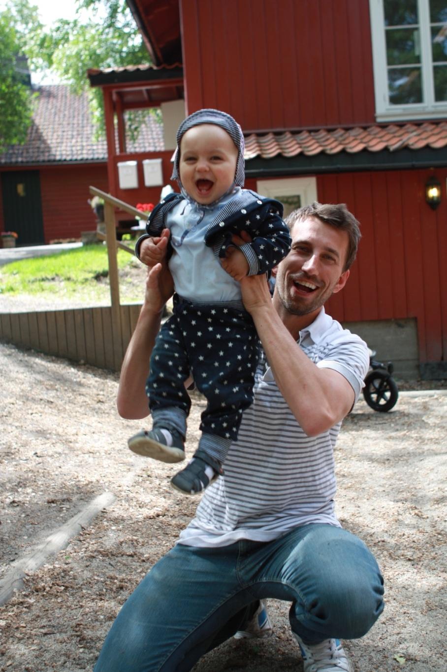Andrzej Golebiowski er ukens pappa uke 25!