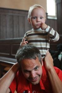Heine Strømme er ukens pappa!